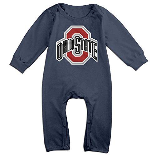 - HOHOE NewBorn Ohio State University Logo Long Sleeve Bodysuit Outfits 18 M
