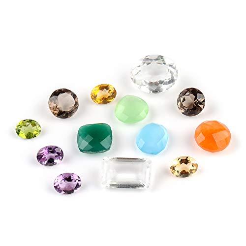 50+ Carats Multi Crystals Set, L...