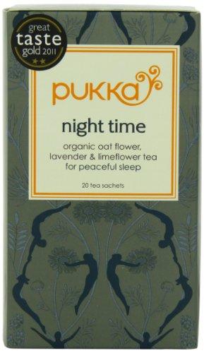 Pukka Organic Teas Night Count