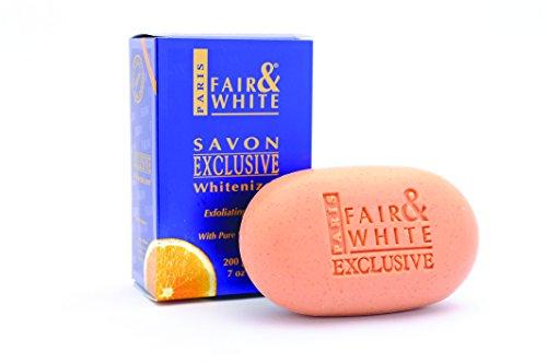 "Fair & White Exclusive Whitenizer Exfoliating Soap with Pure Vitamin""C"", 200g / 7oz"