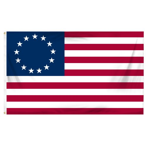 Online Stores Betsy Ross Printed Polyester Flag  3 By 5 Feet