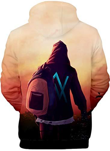 Backpacker Con Cappuccio Walker Musica Felpe Stampato Moda Flychen Uomo Alan 3d Personalizzato Felpa Per Aw 0976 Dj q1IwxxtZ5