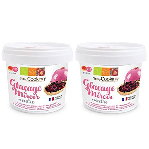 Preparation for neutral mirror glaze 440 g -