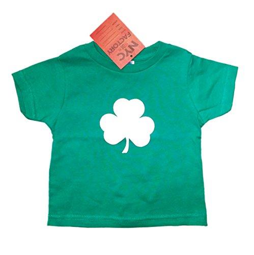 [Shamrock TODDLER T-Shirt Tee Baby Boy Girls 100% Cotton Irish Kelly Green (2T)] (St Patricks Day Shirts For Toddlers)