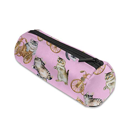 Playful Cats Makeup Storage Bag Cosmetic Pouch Travel Portable Handbag Toiletry Organizer