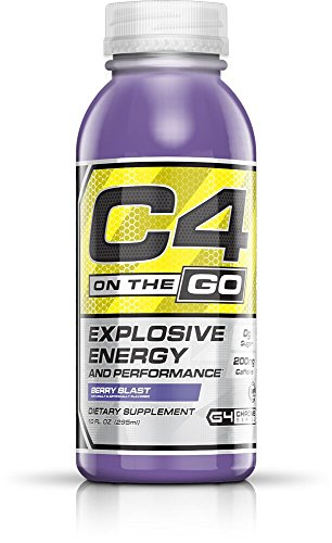 Cellucor, C4 on the Go, Explosive Energy Pre-Workout Supplement, Berry Blast, 12 Count