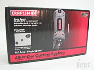 Craftsman 17244 All-in-One Cutting System Rotary Tool