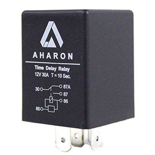 30 Amp 12V 10 Seconds Time Delay Relay for Motorcycle or Car Xenon Headlights Protection
