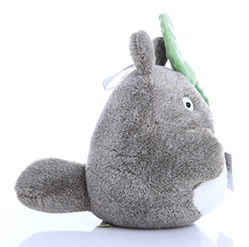 Totoro Plush - Leaf Hat - 7.8 Inches   My Neighbor Totoro   Studio Ghibli Plush 2