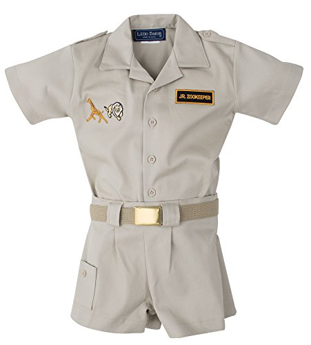 Infant & Toddler Zoo Keeper Outfit (24 Mo.) -