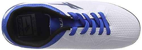 Gola Jungen Rapid Vx Fußballschuhe Weiß (White/Blue)