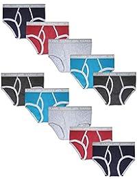 Boys' Cotton Underwear Briefs (10 Pack)
