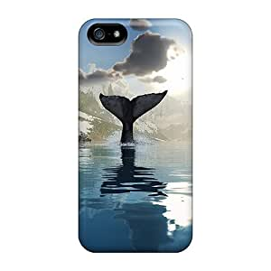 Excellent Iphone 5/5s Case Tpu Cover Back Skin Protector The Refreshing Cold Summer