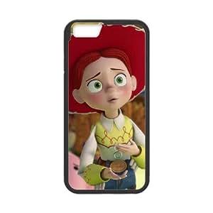 Disneys Toy Story Jessie Funda iPhone 6 Plus 5.5 Inch Funda Caja del teléfono celular Negro O8R6RG
