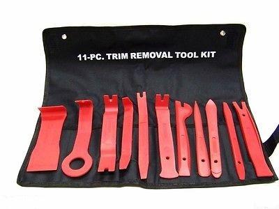 11pc Window Seal Trim Removal Pry bar Tool Panel Door Int...