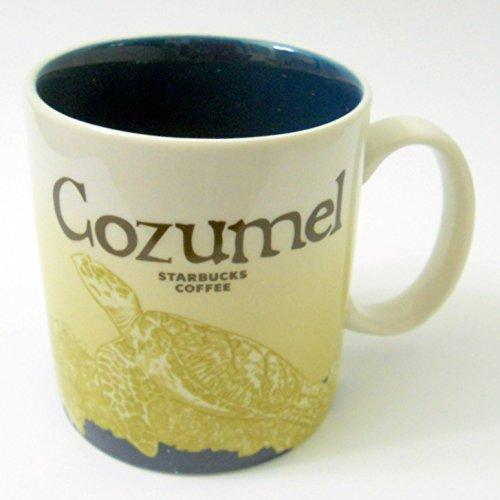 [Starbucks Cozumel (Mexico) Icon Series Mug] (Cozumel Collection)