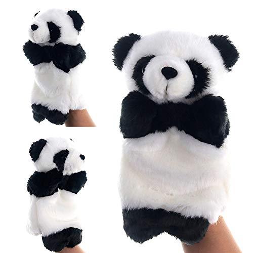 fanmaosdf Hand Puppet Toy,Cute Panda Animal Hand Puppet Plush Doll Kindergarten Children Educational Toy