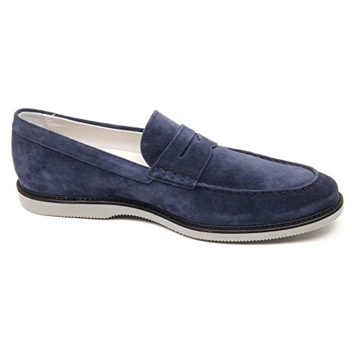 shoe man CLUB L blu uomo HOGAN GUARDALO mocassino Blu D2456 loafer axw6zq8R
