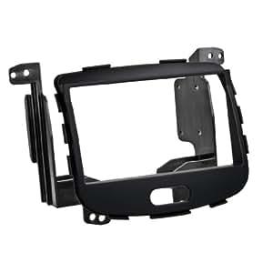 Hama Rubber Touch - Adaptador doble DIN para radio de coche Hyundai i10, color negro