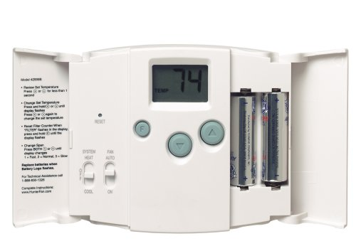 Hunter 42999 Just Right Digital Thermostat