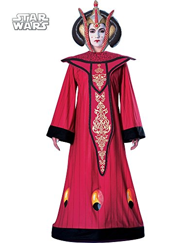 Dlx Queen Amidala Costume (Queen Costumes For Adults)