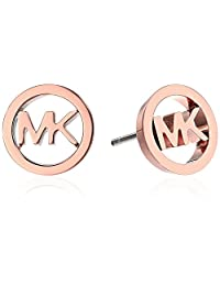 Michael Kors Logo Haute Hardware MK Logo Stud Earrings