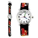 TOPCHANCES Kids Watch,Waterproof Children's 3D Cute Cartoon Wristwatch Digital Timer Teacher Quartz Watch - Best Gift Ideal for Boy Girls