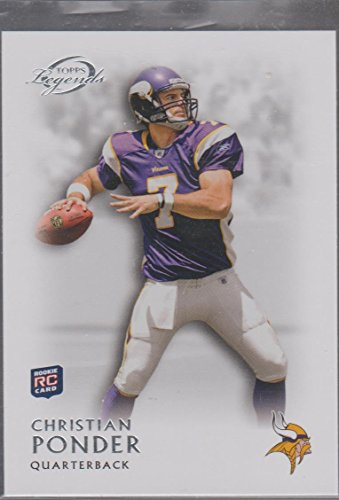 - 2011 Topps Legends Christian Ponder Vikings Rookie Football Card #41