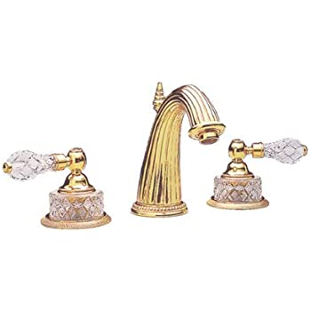 Phylrich K280 025 Polished Gold Regent Cut Crystal Double