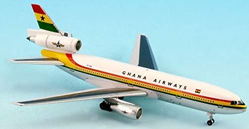 (InFLight500 Ghana Airways REG#9G-ANA Douglas DC-10 1:500 Scale Diecast)