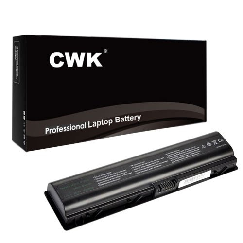 CWK® New Replacement Laptop Notebook Battery for Compaq Presario F732 V6120CA V6120US V6205NR f763nr v6900 A945EM C710 C720 V3019US V6000T V6342EA V6608AU C752LA C762NR C769US F763NR V3300 V6500 A900 C700 F500 F700 V3000 V6000 V6650EE A900 C700 F500 F572US F700 V3000 V3100 V6000 V6400 A945US C759LA C769TU F565CA F762 V3018CL HP Pavilion dv2845se dv6120us dv6325us dv6345 dv6406nr dv6447om dv6226us dv6324us dv6449us dv6707us dx6000 dx6500