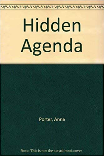 Hidden Agenda: Amazon.es: Anna Porter: Libros en idiomas ...