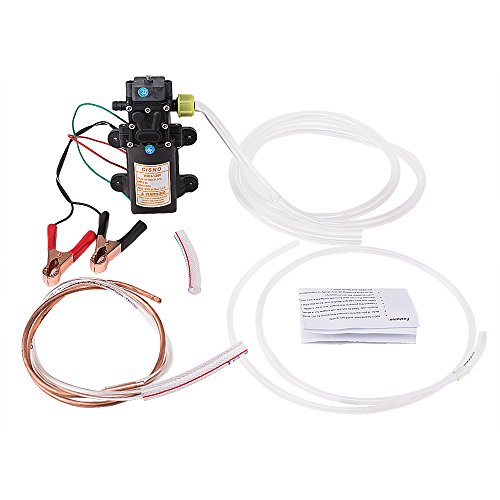 12V Transfer Pump Extractor Oil Fluid Diesel Electric Siphon Car Motorbike