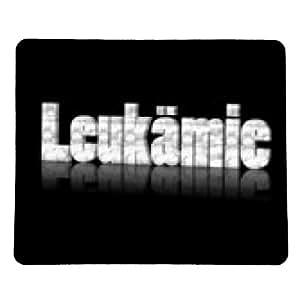 alfombrilla de ratón leucemia - rectangular - 23cm x 19 cm