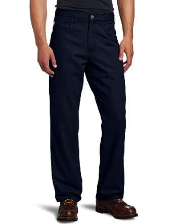 Carhartt Men's Flame Resistant Canvas Pant,Dark Navy,30 x 30