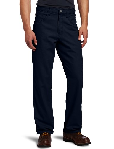 Canvas Carhartt Jeans (Carhartt Men's Flame Resistant Canvas Pant,Dark Navy,31 x 32)