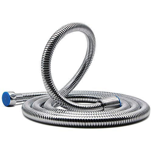 HooSeen Shower Hose, 118-inch Extra Long 18/8 Stainless Steel Handheld Showerhead Hose Replacement with Solid Brass Connector