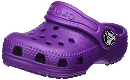 Crocs Kids' Classic Clog, Amethyst, 6 M US Toddler ()
