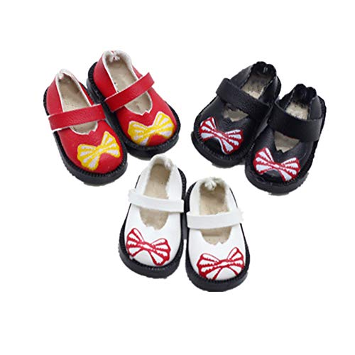 Fully 3 Pairs PU Leather 3cm/1.25