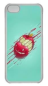 Customized iphone 5C PC Transparent Case - Apple Cover