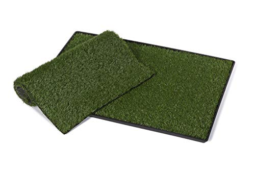 Prevue Pet Products Large Tinkle Turf with Replacement Pad 502K, - Housebreaking Aid
