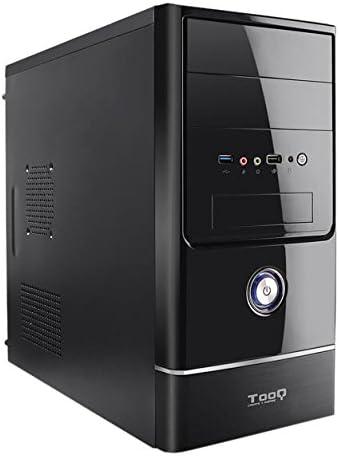 TooQ TQC-4765U3-B - Caja de Ordenador (microATX,con Fuente de 500 ...