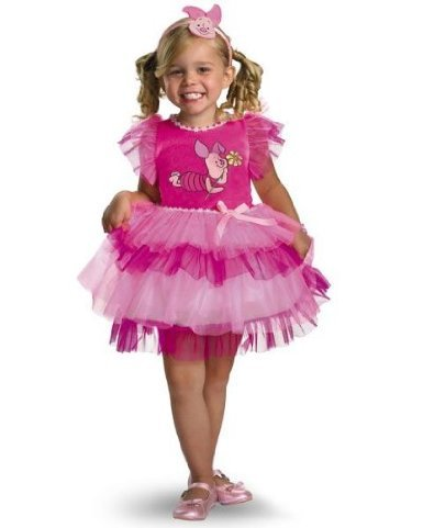 Frilly Piglet Costume (12-18 (Winnie The Pooh And Piglet Costumes)
