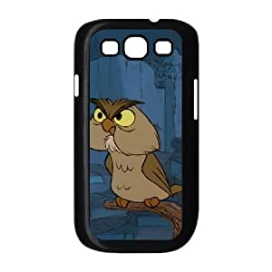 Samsung Galaxy S3 9300 Cell Phone Case Black The Sword in the Stone Character Archimedes W2297054
