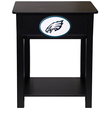 Fan Creations N0533-PHI Philadelphia Eagles Nightstand/Side Table