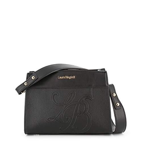 Rrp Women Bag Shoulder Biagiotti Designer Black Laura Genuine PqaZUvwaF