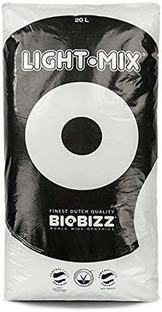 BioBizz Light Mix 20L Erde Pflanzensubstrat Grow Blumenerde 0,33 EUR//l