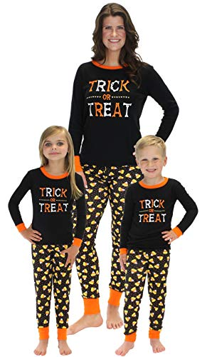 Sleepyheads Halloween Trick Treat Family Matching Pajama Set