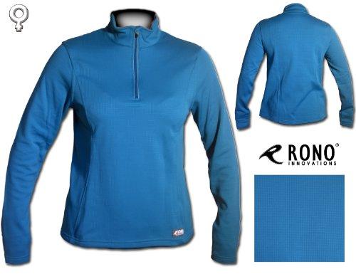 Rono LS Hyd3 Fleece Zip Top TS Damen/Women Laufpulli