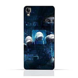 AMC Design ALCATEL Idol3 4.7 TPU Silicone Protective case with Dangerous Hacker Design